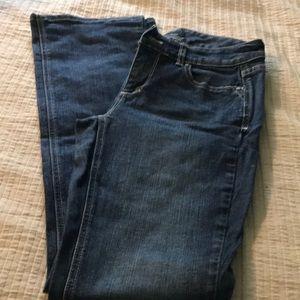 White House black market jeans contour cut